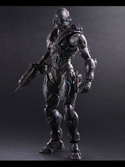 Play Arts Kai Halo 5 Guardians - No 2 Spartan Locke