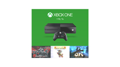 Xbox One Holiday Bundle (1TB) (3 games, 2 controllers)
