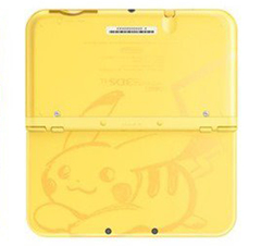 New 3DS XL Console (Limited Edition Pikachu Yellow)