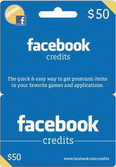 Facebook Game Card (USD50)