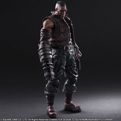 Play Arts Kai - Barret Wallace FF7 Remake Edition