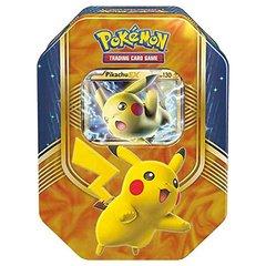 Pokemon 2016 Battle Heart Pikachu-EX Collector Tin