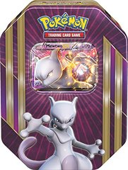 Pokemon 2016 Triple Power Mewtwo-EX Collector Tin