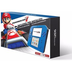 Nintendo 2DS w/ Mario Kart 7 (Electric Blue 2)