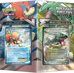 Pokemon Battle Arena Decks Rayquaza vs Keldeo