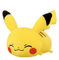 Small Lying Down Pikachu Plush