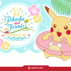 Kuji - Pokemon Pikachu & Friends~ Happy Beach Time