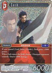 FFTCG 1-012R Zack - Rare Foil