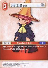 FFTCG 1-010C Black Mage - Common