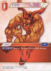FFTCG 1-004C Ifrit - Common