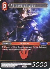 FFTCG 1-005R Warrior of Light - Rare