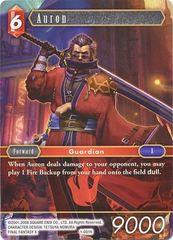 FFTCG 1-001H Auron - Hero