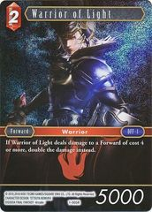 FFTCG 1-005R Warrior of Light - Rare Foil