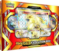 Pokemon BREAK Evolution Arcanine Box