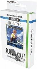 Final Fantasy TCG FFTCG FF X Starter Set