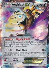 Pokemon Aegislash EX - 65/119 - Ultra Rare