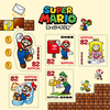 Super Mario Postage Stamps Set