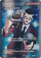 Pokemon Battle Reporter - 109/111 - Full Art Ultra Rare
