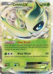 Pokemon Celebi EX - 9/149 - Ultra Rare