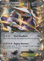Pokemon Aggron EX - 93/160 - Ultra Rare