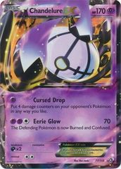 Pokemon Chandelure EX - 77/113 - Ultra Rare