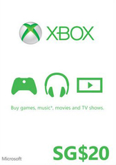Xbox Gift Card (SGD20)