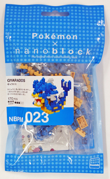 Pokemon x Nanoblock (Gyarados)