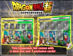 Dragon Ball Super Card Game Expansion Deck Box Set Mighty Heroes (BE01)