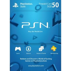Playstation Network Card (SGD50)