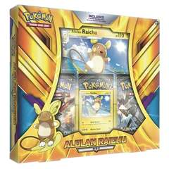 Pokemon Alolan Raichu Box (With Large Card)