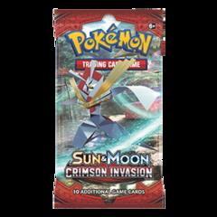 Pokemon SM4 Crimson Invasion Booster Pack
