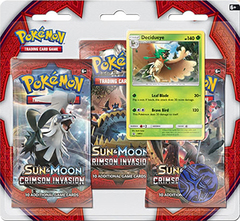 Pokemon SM4 Crimson Invasion 3 Pack Blister