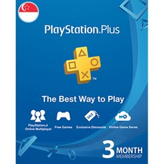 PlayStation Plus SG 3 Months Subscription