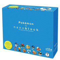 Mini Pokemon Nanoblock Collection Vol 3 (Box)
