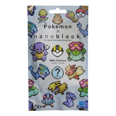Mini Pokemon Nanoblock Collection Vol 3 (Pack)