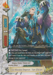 Ice-blooded Emperor, Van Glacier X-BT04/0051