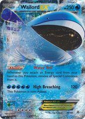 Pokemon Wailord EX - 38/160 - Ultra Rare