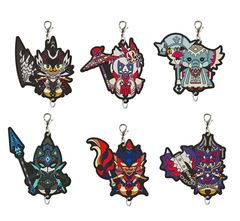 Monster Hunter Kuji Rubber Charm