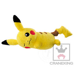 Pikachu Relax Time Big Plush Doll