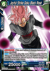 Dragon Ball TCG Joyful Strike Goku Black Rose (Foil) - P-015