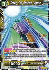 Dragon Ball TCG Ginyu, The Reliable Captian (Foil) - P-019