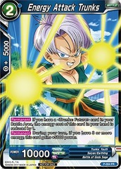 Dragon Ball TCG Energy Attack Trunks (Foil) - P-004
