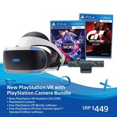 Playstation VR with Camera Bundle (New Model)
