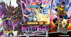 BuddyFight X-CBT: Driven to Disorder Booster Pack