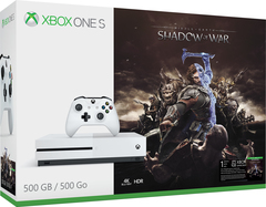 Xbox One S Shadow of War Bundle