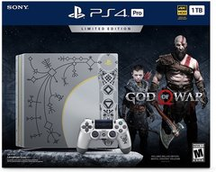 Playstation 4 Pro Console God of War Limited Edition