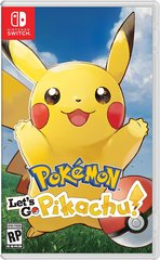 Pokemon Let's Go, Pikachu!