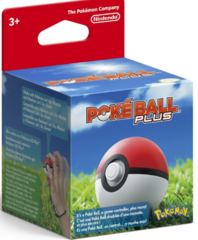 Pokemon Let's Go Eevee + Poke Ball Plus Bundle