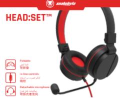 Snakebyte Universal Headset Red SB913105