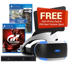 Playstation VR w/ 2 Games and Camera Bundle (New Model)